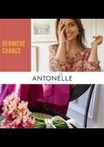 Prospectus Antonelle : DERNIÉRE CHANCE