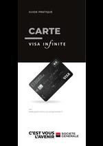 Prospectus Société Générale : Guide Visa Infinite