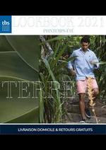 Prospectus TBS : LookBook 2021 Homme Printemos Ëté