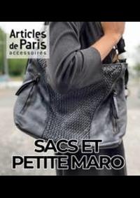 Prospectus Articles de Paris VALENCIENNES Centre Commercial Place d'Armes : SACS ET PETITE MARO