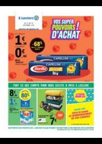 Prospectus E.Leclerc : VOS SUPER POUVOIRS D'ACHAT!