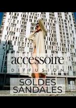 Catalogues et collections Accessoire diffusion : SOLDES SANDALES