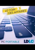 Prospectus LDLC : LE COIN DES AFFAIRES PC PORTABLE