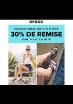 Promos et remises CROCS : Crocs -30% de remise
