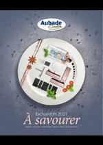Prospectus Espace Aubade : Aubade Creation Catalogue 2021