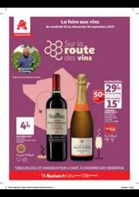 Prospectus Auchan Val d'Europe Marne-la-Vallée : Un grand choix de vins en supermarché !