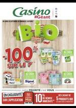 Prospectus Géant Casino : Bio