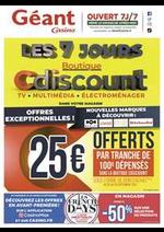 Prospectus Géant Casino : Les 7 jours boutique Cdiscount