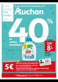 Prospectus Auchan SARCELLES Division Leclerc : Catalogue Auchan