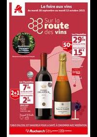 Prospectus Auchan Val d'Europe Marne-la-Vallée : Sur la route des vins