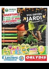 Prospectus E.Leclerc ORLY : Vos envies jardi prennent vie