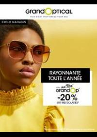Prospectus Grand Optical Paris 30 avenue d'Italie : Offress