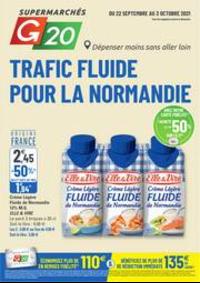 Prospectus G20 PARIS 1 Louvre : Trafic Fluide Pour La Normandie