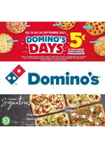 Prospectus Domino's pizza : Offre Spéciale