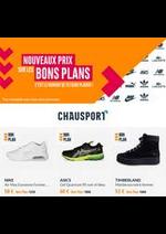 Prospectus chausport : Nouveaux Prix Bons Plans