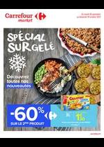 Promos et remises Carrefour Market : Surgelés