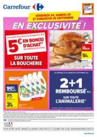 Prospectus Carrefour Villeneuve-La-Garenne : Carrefour en Exclusivité !