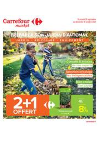 Prospectus Carrefour Market THONON LES BAINS  : PREPARER SON JARDIN D'AUTOMNE