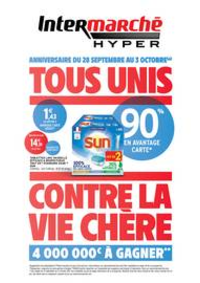 Prospectus Intermarché Hyper Thonon-Les-Bains : TF ANNIVERSAIRE 2