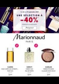 Prospectus Marionnaud AMPHION : UNE SÉLECTION Á -40%