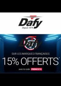Prospectus Dafy Moto Paris Voltaire : Les French Days