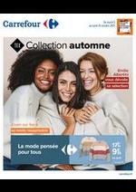 Prospectus Carrefour : Collection Automne