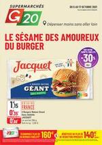 Prospectus G20 : Le Sésame des Amoureux du Burger