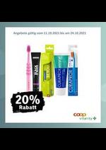 Prospectus Coop Vitality : 20% Rabatt