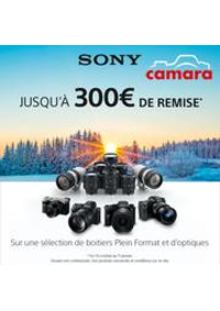 Prospectus Magasin Camara DOLE : Camara Sony Promos Hybrides