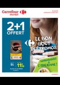 Promos et remises Carrefour Market Thonon-les-Bains - Avenue Jules Ferry : La bon goût des promos !