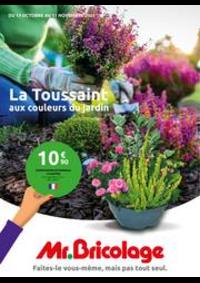 Prospectus Mr Bricolage DOLE : La Toussaint aux couleurs du jardin