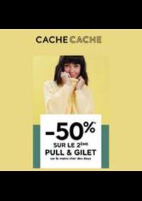 Promos et remises Cache cache Dôle Centre Commercial Géant : Cache Cache -50%