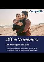 Prospectus Campanile Restaurants : Campanile Offre Weekend
