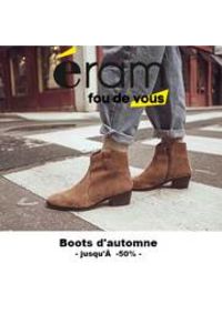 Prospectus Eram METZ : Boots d'Automne l Jusqu'à -50%