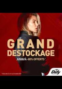 Prospectus DAFY MOTO DIJON : GRand Destockage