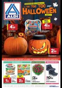 Prospectus Aldi : Halloween