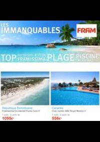 Prospectus Ambassade FRAM PARIS : Promotion